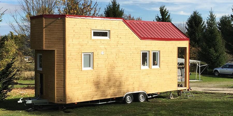 haus auf radern ein kleines diese mobilen minihauser oder kleinhauser ermaglichen hochwertiges wohnen auch arbeiten a 1 4 berschaubarem raum bauen